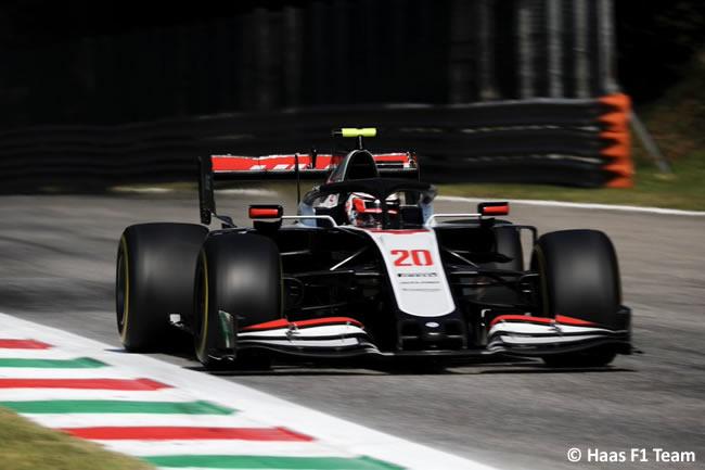 Kevin Magnussen - Haas - Entrenamientos Libres GP de Italia - Monza - 2020