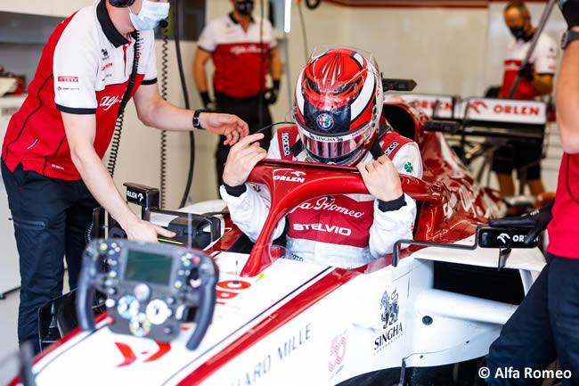 Kimi Raikkonen - Alfa Romeo - Entrenamientos - Gran Premio Toscana - Mugello - 2020