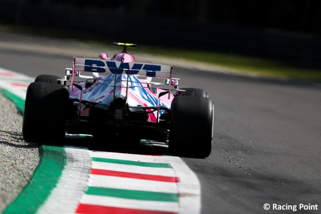 Lance Stroll - Racing Point - Entrenamientos Libres GP de Italia - Monza - 2020