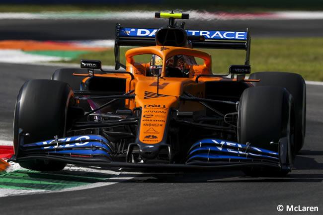 Lando Norris - McLaren - Entrenamientos Libres GP de Italia - Monza - 2020