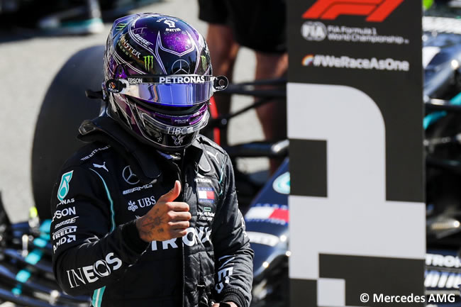 Lewis Hamilton - Mercedes - Clasificación - GP de Italia - Monza - 2020