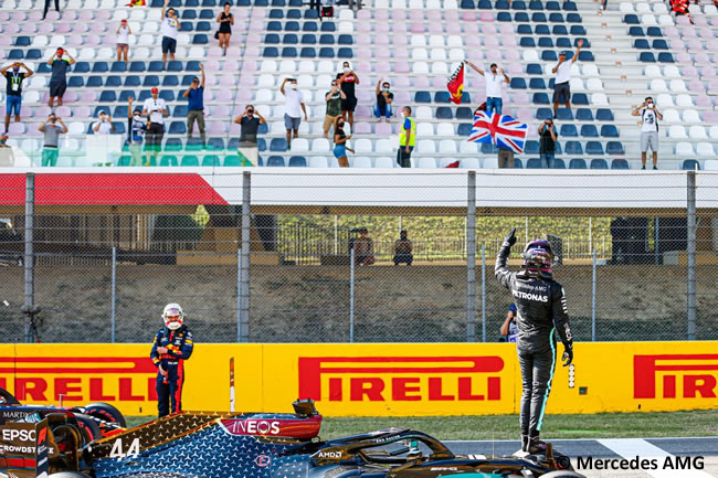 Lewis Hamilton - Mercedes - Gran Premio Toscana - Mugello - 2020