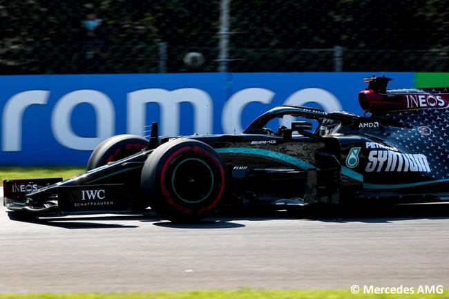 Lewis Hamilton - Mercedes - Entrenamientos Libres GP de Italia - Monza - 2020