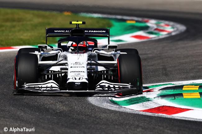 Pierre Gasly - AlphaTauri - Clasificación - GP de Italia - Monza - 2020