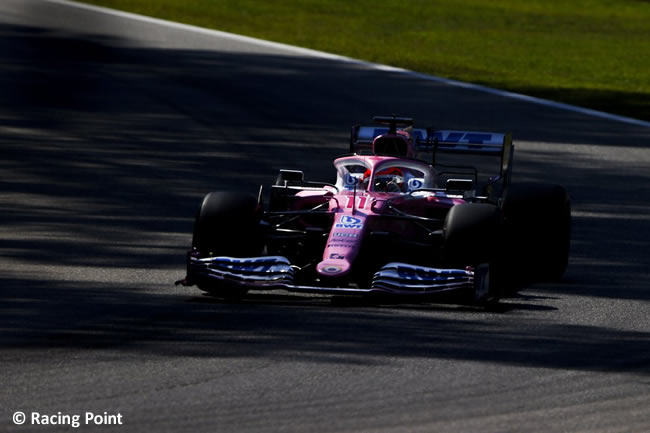 Sergio Pérez - Racing Point - Clasificación - GP de Italia - Monza - 2020
