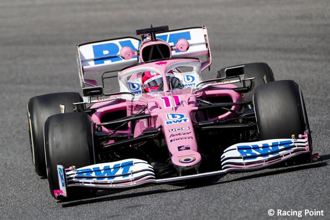 Sergio Pérez - Racing Point - Entrenamientos - Gran Premio Toscana - Mugello - 2020