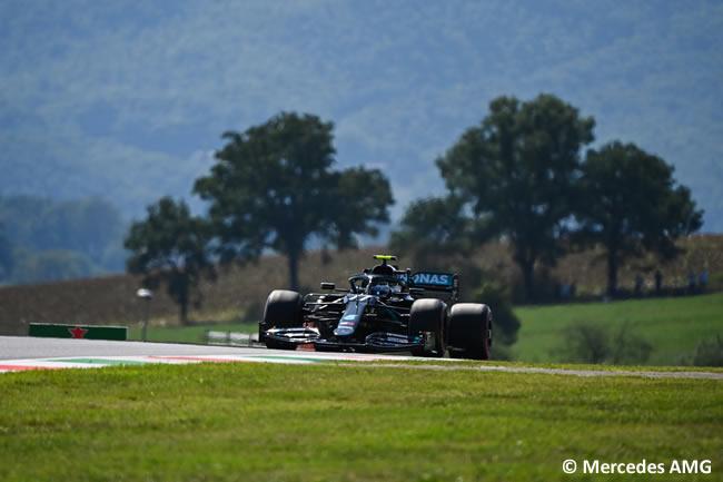 Valtteri Bottas - Mercedes - Entrenamientos - Gran Premio Toscana - Mugello - 2020