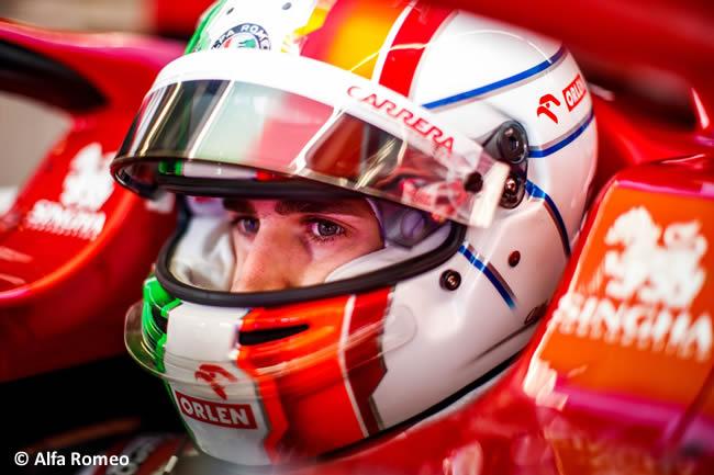 Antonio Giovinazzi - Alfa Romeo - Clasificación - Gran Premio Portugal - Portimao - 2020