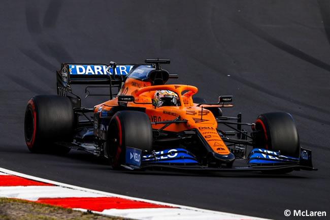 Carlos Sainz - McLaren - Carrera GP de Eifel - Nürburgring 2020