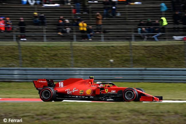 Charles Leclerc - Scuderia Ferrari - Clasificación GP de Eifel - Nürburgring 2020