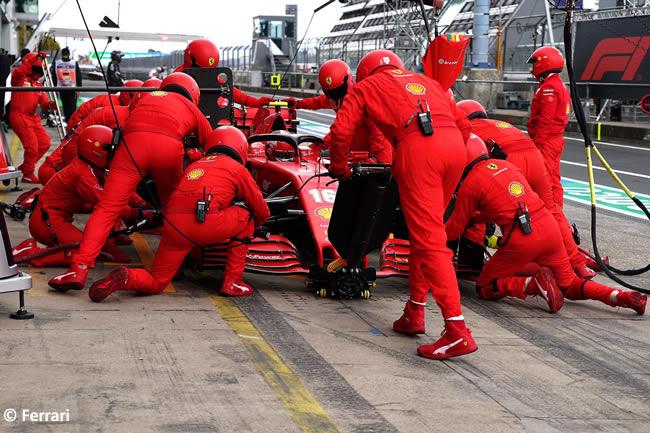 Charles Lelerc - Scuderia Ferrari - Carrera GP de Eifel - Nürburgring 2020
