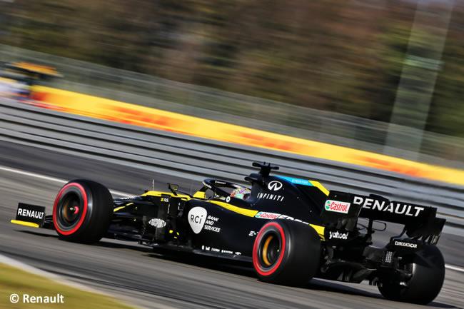 Daniel Ricciardo - Renault - Clasificación GP de Eifel - Nürburgring 2020