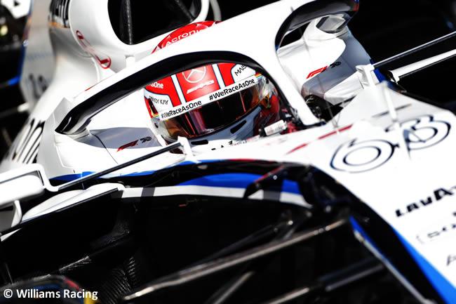 George Russell - Williams - Clasificación - Gran Premio Portugal - Portimao - 2020