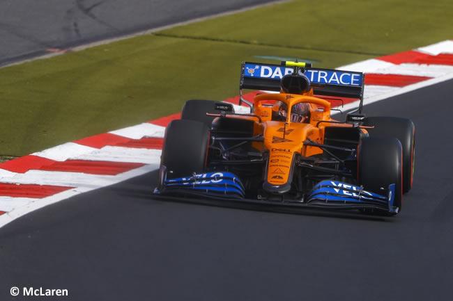 Lando Norris - McLaren - Clasificación GP de Eifel - Nürburgring 2020