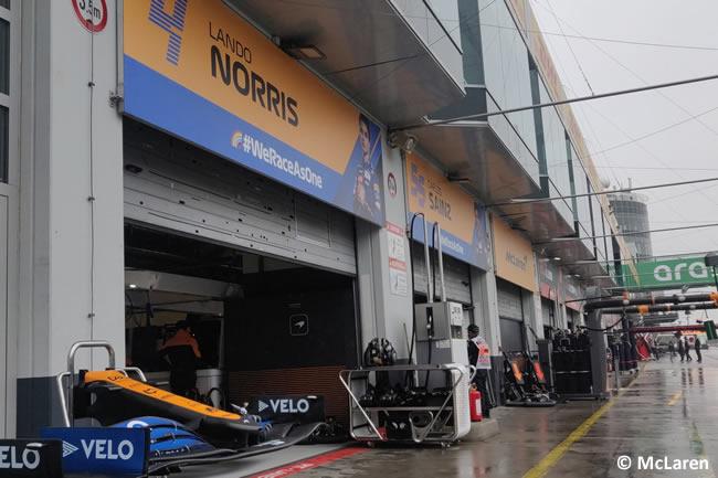 McLaren - Entrenamientos GP de Eifel (Alemania) 2020