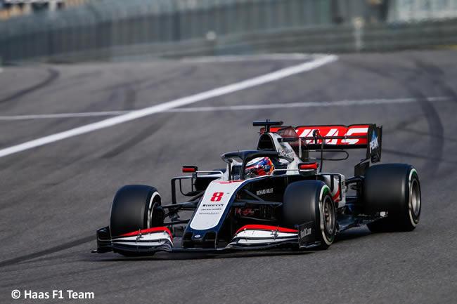Romain Grosjean - Haas - Carrera GP de Eifel - Nürburgring 2020