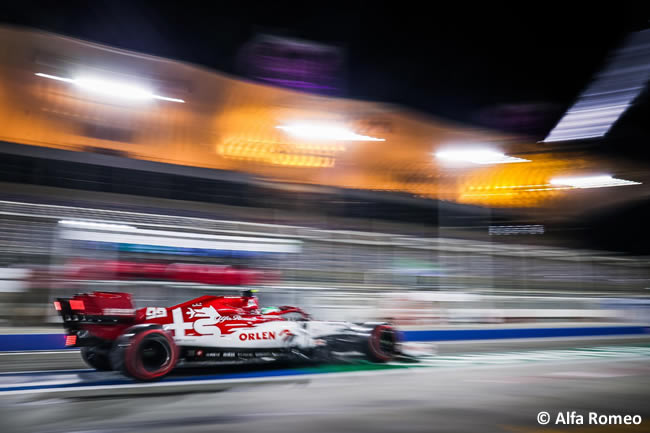 Antonio Giovinazzi - Alfa Romeo -Clasificación - Gran Premio Bahréin - 2020