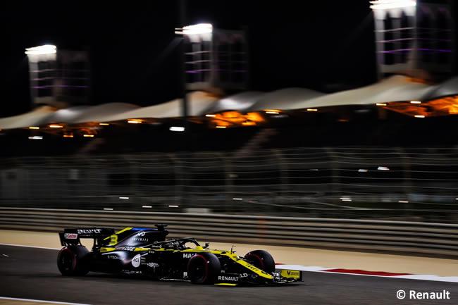 Daniel Ricciardo - Renault - Clasificación - Gran Premio Bahréin - 2020