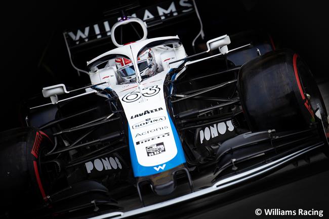 George Russell - Williams - Clasificación - Gran Premio Bahréin - 2020
