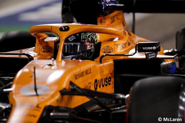 Lando Norris - McLaren - Clasificación - Gran Premio Bahréin - 2020