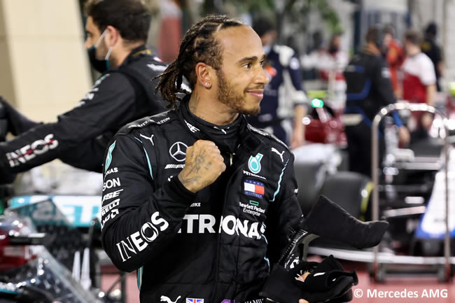 Lewis Hamilton - Mercedes - Carrera - Gran Premio Bahréin - 2020