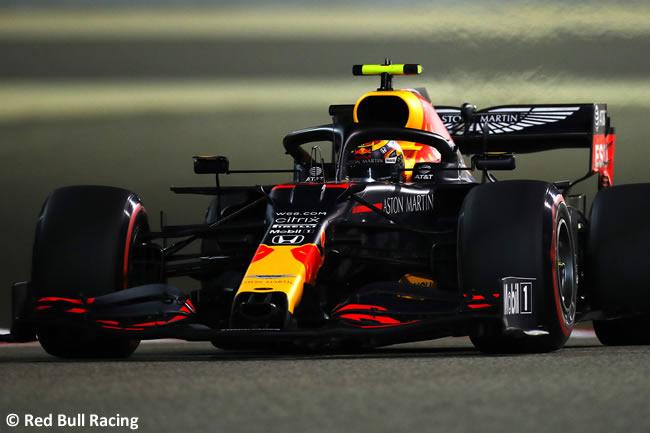 Alex Albon - Red Bull - Carrera - Gran Premio Sakhir - 2020