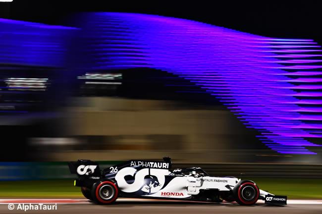 Daniil Kvyat - AlphaTauri - Clasificación - Gran Premio Abu Dhabi - 2020