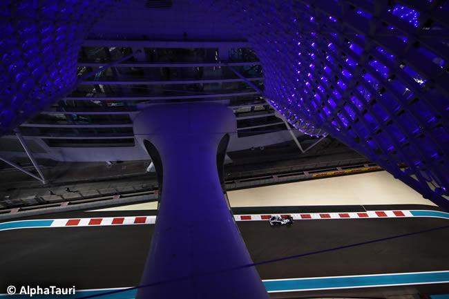 Daniil Kvyat - AlphaTauri - Entrenamientos Libres - Gran Premio Abu Dhabi - 2020