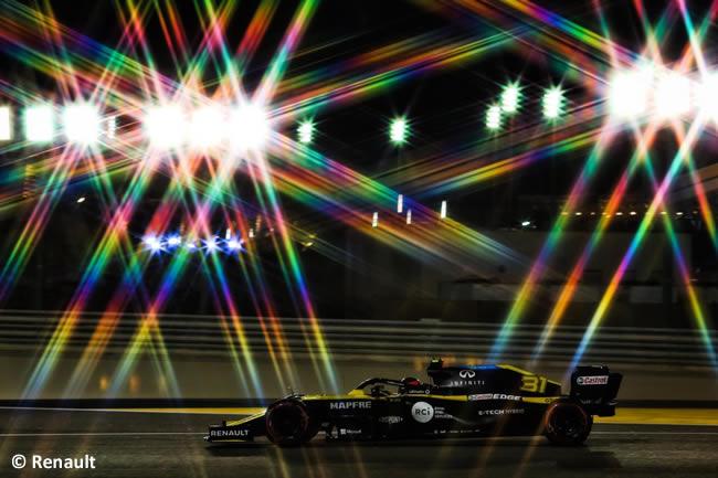 Esteban Ocon - Renault - Carrera - Gran Premio Sakhir - 2020
