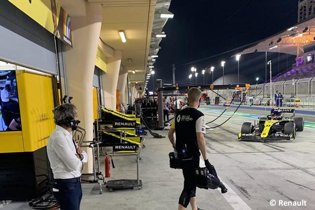 Esteban Ocon - Renault - Entrenamientos Libres - Gran Premio Sakhir - 2020