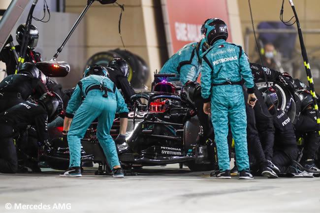 George Russell - Mercedes - Carrera - Gran Premio Sakhir - 2020