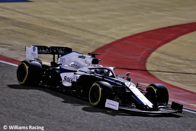 Jack Akiten - Williams - Carrera - Gran Premio Sakhir - 2020