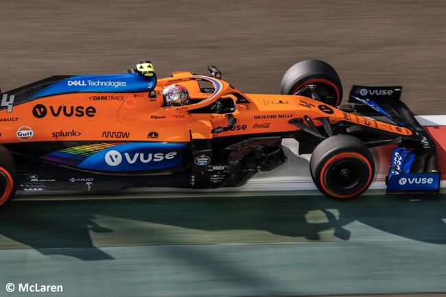 Lando Norris - McLaren - Clasificación - Gran Premio Abu Dhabi - 2020