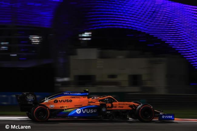 Lando Norris - McLaren - Entrenamientos Libres - Gran Premio Abu Dhabi - 2020
