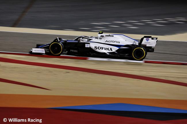 Nichilas Latifi - Williams - Entrenamientos Libres - Gran Premio Sakhir - 2020