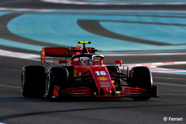 Sebastian Vettel - Scuderia Ferrari - Entrenamientos Libres - Gran Premio Abu Dhabi - 2020