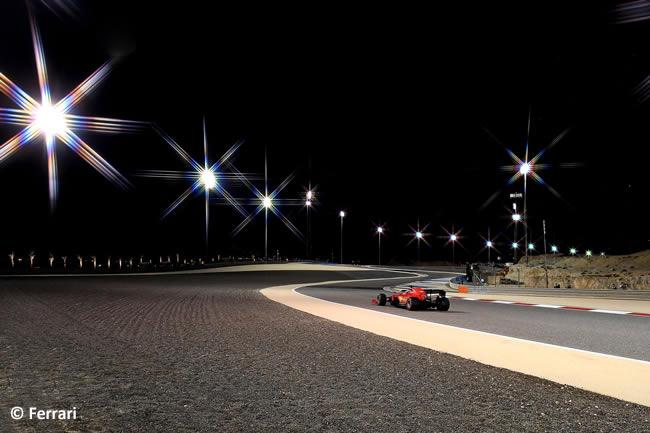 Sebastian Vettel - Ferrari - Entrenamientos Libres - Gran Premio Sakhir - 2020