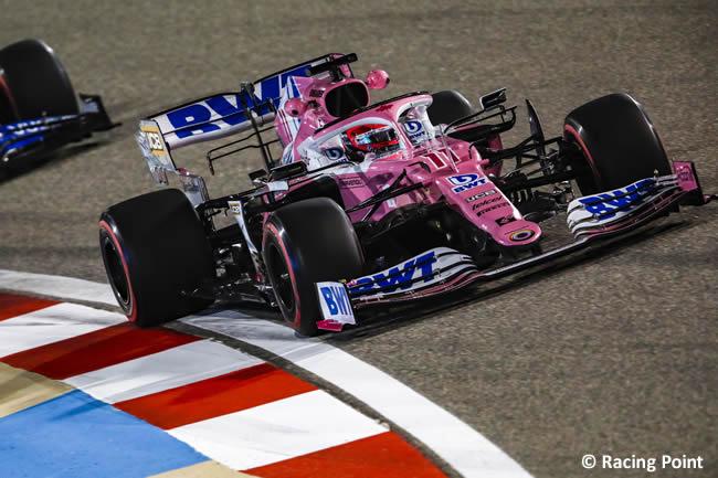 Sergio Pérez - Racing Point - Entrenamientos Libres - Gran Premio Sakhir - 2020