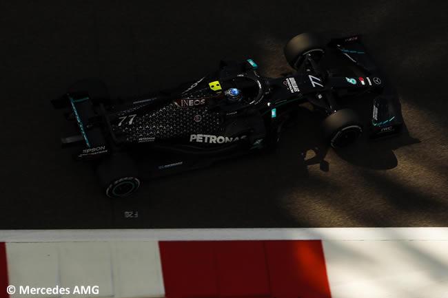 Valtteri Bottas - Mercedes - Entrenamientos Libres - Gran Premio Abu Dhabi - 2020