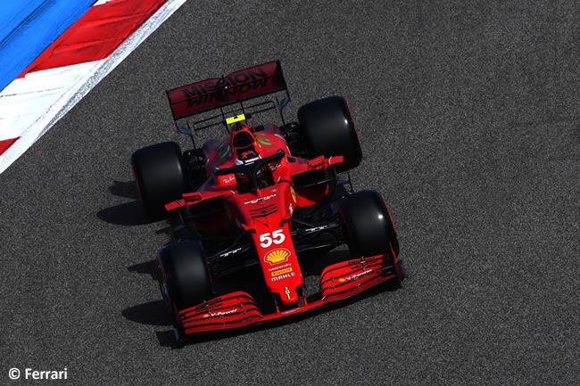 Carlos Sainz - Scuderia Ferrari - Entrenamientos- GP Bahréin 2021