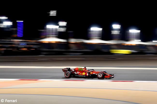 Charles Leclerc - Scuderia Ferrari - Clasificación - GP Bahréin 2021