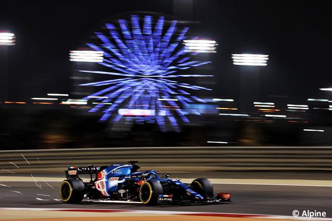 Fernando Alonso - Alpine - Clasificación - GP Bahréin 2021