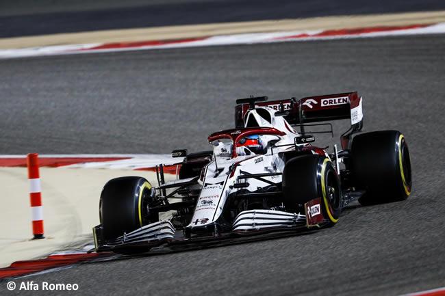 Kimi Raikkonen - Alfa Romeo - Carrera - GP Bahréin 2021