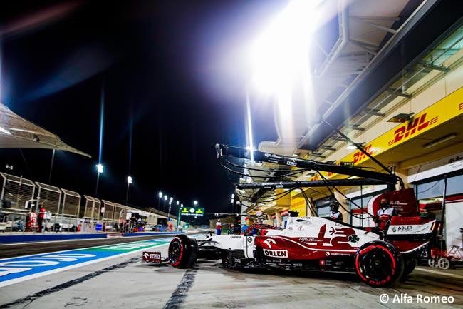 Kimi Raikkonen - Alfa Romeo - Entrenamientos- GP Bahréin 2021