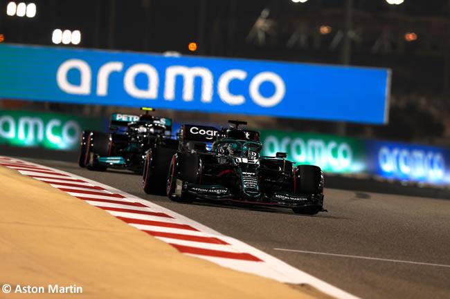 Lance Stroll - Aston Martin - Clasificación - GP Bahréin 2021