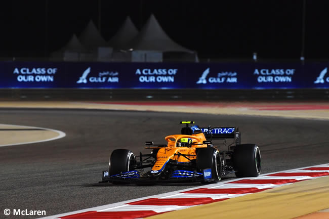 Lando Norris - McLaren - Carrera - GP Bahréin 2021