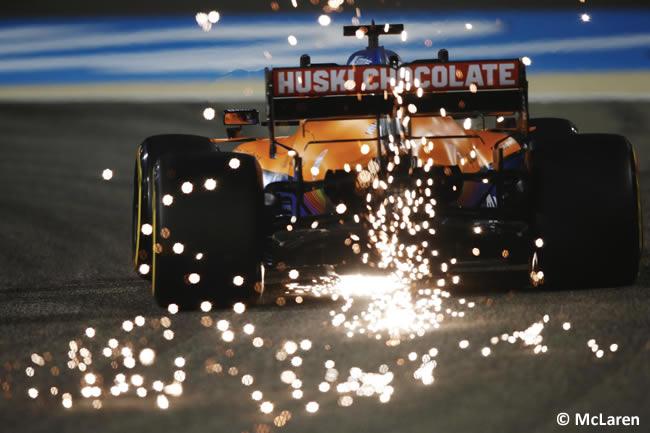 Lando Norris - McLaren - Entrenamientos- GP Bahréin 2021