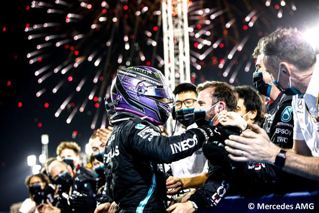 Lewis Hamilton - Mercedes - Carrera - GP Bahréin 2021