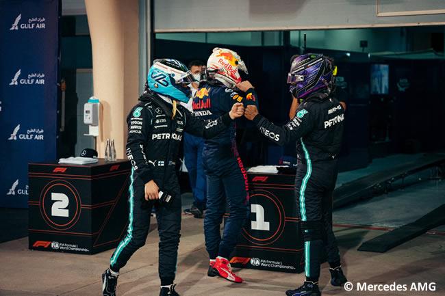 Lewis Hamilton - Mercedes - Clasificación - GP Bahréin 2021