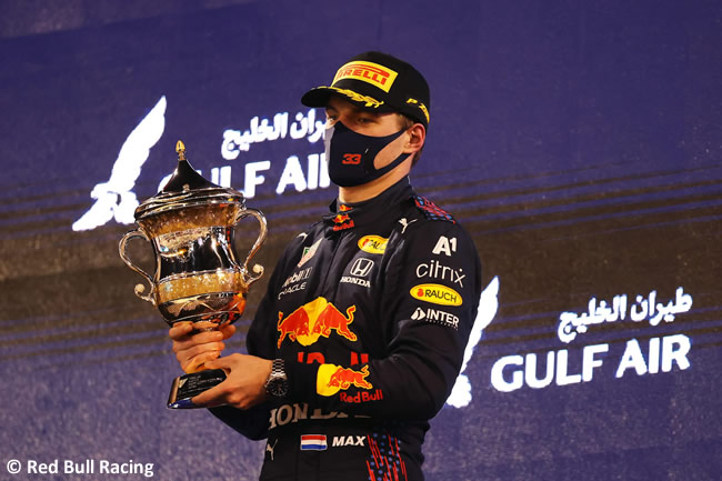 Max Verstappen - Red Bull Racing - Carrera - GP Bahréin 2021